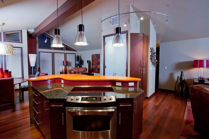 Kitchen Island With Slide In Stove kitchen & bath restylers - our blog